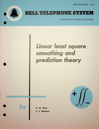 """A Simplified Derivation of Linear Least Squares Smoothing and Prediction Theory"" or [ Cover..."