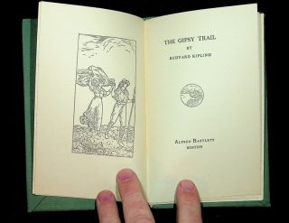 The Gipsy Trail [The Gypsy Trail] - WHOLESALE or TEACHING group of seven unopened copies PLUS Kipling bibliography