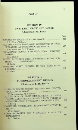 Fluid Mechanics, Acoustics, and Design of Turbomachinery. Part II. A symposium held at the Pennsylvania State University, University Park, Pennsylvania, August 31 to September 3, 1970, and sponsored by the National Aeronautics and Space Administration, the Pennsylvania State University, and the U.S. Navy.