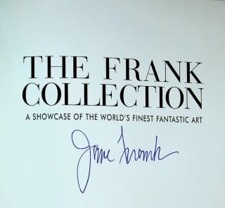 The Frank Collection - A Showcase of the World's Finest Fantastic Art - SIGNED