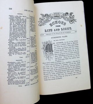 Life and Light for Woman Vol III No. 8 August, 1873
