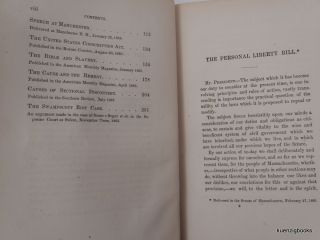 Speeches and Essays Upon Political Subjects from 1860 to 1869